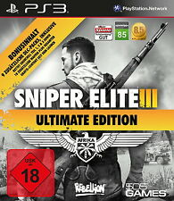 PS3 / Sony Playstation 3 Spiel-Sniper Elite III (3) Ultimate Edition(OVP)(USK18)
