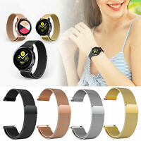 Magnetic Milanese Loop Strap Bracelet Band For Samsung Galaxy Watch Active 2