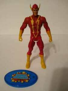 DC Universe Classics Crime Syndicate of America Johnny Quick. LOOSE + Stand