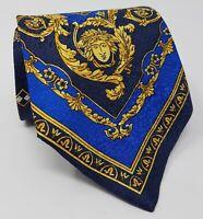 Cravatta Gianni Versace barocco 100% pura seta tie silk original made in italy