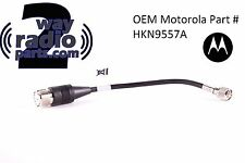 OEM Motorola Mini UHF to SO239 (PL259)High Quality Adapter cable (XTL2500 vhf)