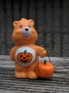 "CUSTOM Vintage Kenner Care Bear PVC Mini Figure 2"" TRICK OR SWEET Halloween"
