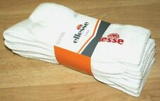 Ellesse Italy men's crew ankle sports socks tennis gym UK 9-11 EUR 43-46 5 Pack