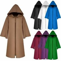 Kid/Adult Halloween Hooded Cloak Robe Party Wizard Witches Cosplay Cape Costume