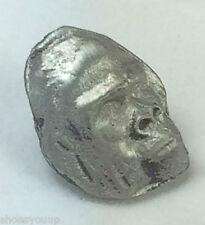 Small Gorilla Head Quality Handmade UK Pewter Lapel Pin Badge