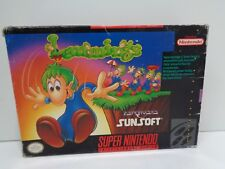 Video Game - Super Nintendo SNES LEMMINGS - Game w/ Box