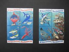 NUOVA Zelanda 1998 ANNO INTERNAZIONALE dell'oceano Set NHM SG 2206/13