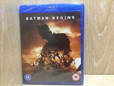 Batman Begins Blu Ray New & Sealed Christian Bale