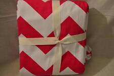 NWOT Pottery Barn kids Chevron Blackout Panel Hot Pink 52 x 84 inches
