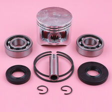 45mm Piston Ring Kit For Chinese 5200 52cc w Crank Bearing Oil Seal Set Chainsaw