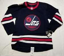 WINNIPEG JETS size 50 = Medium - 2019 HERITAGE Classic ADIDAS NHL HOCKEY JERSEY