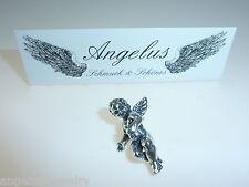 Schutzengel, Nr. 1, vollplastisch, Guardian Angel, 925 Silber, #6209