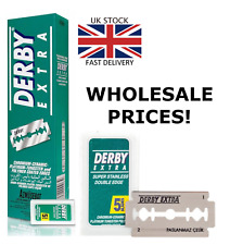 Derby Extra Stainless | Double Edge Razor Blades | Premium Safety DE 5 to 5000