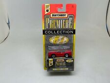 MATCHBOX-PREMIERE-COLLECTION-MITSUBISHI SPYDER-RED-SERIES-1-SEALED ON CARD