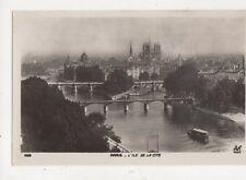 Paris l'Ile de la Cite France [AN 406] Vintage RP Postcard 871a
