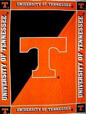 "RARE College Fleece Fabric NCAA University Tennessee - Anti-Pill 48""x 60"" Panel"