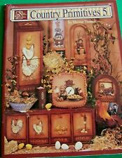 COUNTRY PRIMITIVES V5 BY MAXINE THOMAS  SCHEEWE 1997 CHICKENS TOLE PAINT BOOK