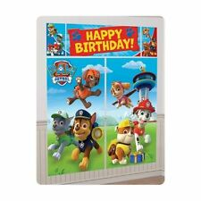 Paw Patrol Boys Birthday Scene Setter Banner Wall Party Decoration Kit