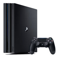 Sony PlayStation 4 Pro 1TB Jet Black Console