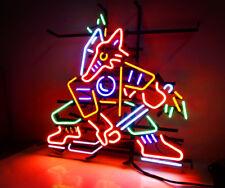 Fox Hockey Vintage Neon Sign Light Team Sports Shop Bar Display Wall Decor Gift