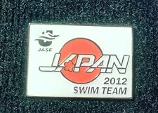 2012 LONDON OLYMPIC JAPAN SWIMMING TEAM FEDERATION JASF PIN