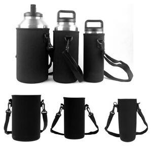 Isolierte Flaschenhülle Neopren Kaffeetassen Kaffeebecher Reise Wasserflasche