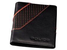 NEW RRP £25 Police POMGA7-0907 Zephyr Leather Card Holder