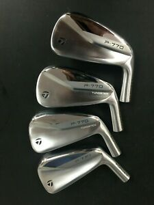 2021 NEW TAYLORMADE FORGED P770 P-770 P 770 SET OF 4, 4-7 HEADS ONLY .355 TAPER