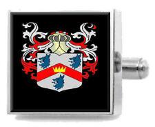 Abercrombie Escocia Familia Crest Escudo de Armas Clip de Corbata Grabado En Bolsa