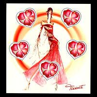 France 2003 - Valentine's Day Sheet - Sc 2926a MNH