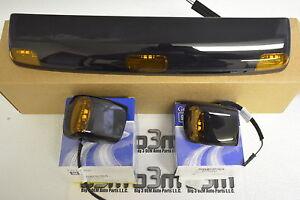 Chevrolet Silverado GMC Sierra Front Left Right & Center Roof Cab Lights OEM