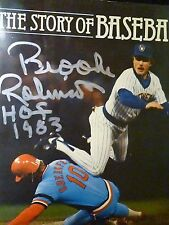 Orioles Hall Of Fame Member Brooks Robinson Auto The Story Of Baseball Book