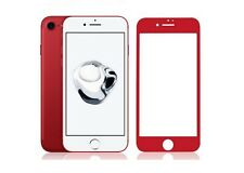 3D FULL COVER iPhone 6 PLUS iPhone 6S PLUS SchutzGLAS ROT 4D Schutzfolie GLAS