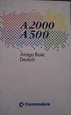 Commodore Amiga 500/2000 Amiga Basic Deutsch (Buch)