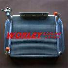 3 Cores Crossflow Aluminum Radiator For MG MGA 1500 1600 1622 DE LUXE 55-62 MT