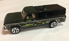 2015 Hot Wheels Camouflage '79 Ford F-150 Pickup Green  Loose