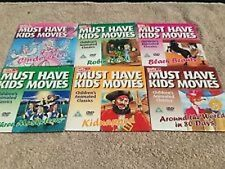 PROMO  DVD  MUST HAVE KIDS MOVIES -  BEAUTY AND THE BEAST