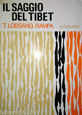 RAMPA T. LOBSANG IL SAGGIO DEL TIBET ASTROLABIO UBALDINI 1988