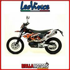 8299E POT D'ÉCHAPPEMENT LEOVINCE KTM 690 SMC 2011- LV ONE EVO INOX/CARBON