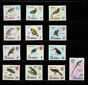 DE875 GAMBIA 1966 Birds  MNH