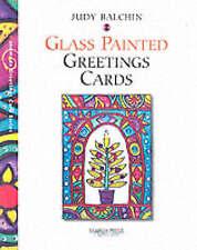 "Handmade Glass Painted Greetings Cards (Handmade Greetings Card) Judy Balchin ""A"