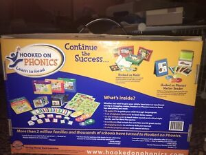 hooked om phonics complete set learn to read new in Box