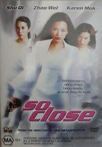 """SHU QI, ZHAO WEI, KAREN MOK      """"SO CLOSE""""    R.4   DVD"""