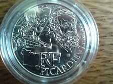 france 10 euros argent 2012 picardie