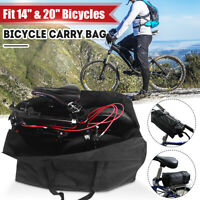 Folding Bicycle Bike Carrier Bag Carry Cover for Dahon 14''-20'' Mountain