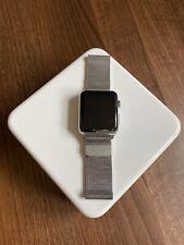 Apple Watch Series 1 Stainless Steel Milanese Loop 42mm