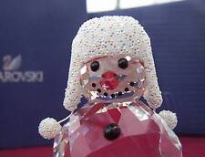 Swarovski Crystal Snowman figurine Nib 5004516 original packaging