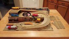Vintage Hot Wheels Railroad Set Late 1970'S See Pics Antique Toys Train Case