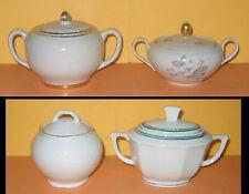 4 Zuccheriera in ceramica - SCALA . BAVARIA . SCI LAVENO . RICHARD GINORI