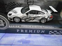 PORSCHE 911 996 Carrera GT3 RS Presentation 2001  S-Preis IXO Altaya 1:43